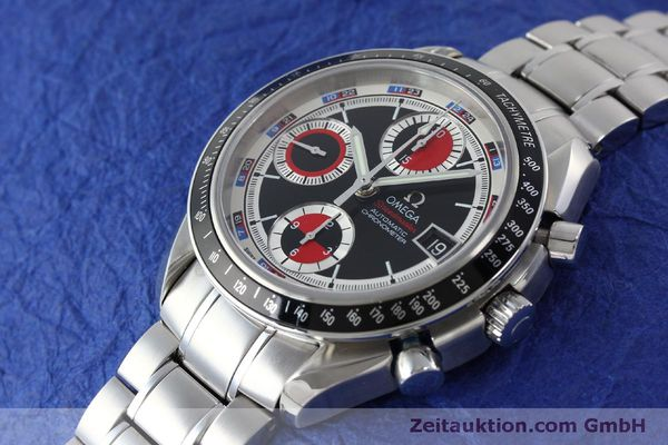 Used luxury watch Omega Speedmaster chronograph steel automatic Kal. 1165B Ref. 32105200  | 151704 01