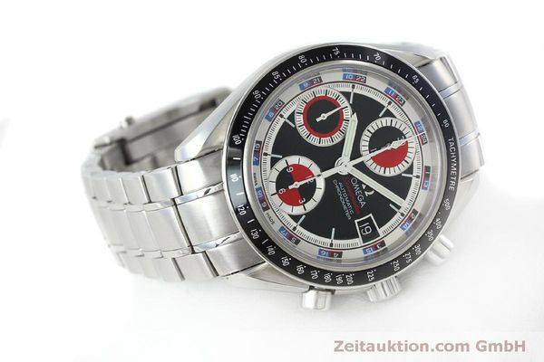 Used luxury watch Omega Speedmaster chronograph steel automatic Kal. 1165B Ref. 32105200  | 151704 03