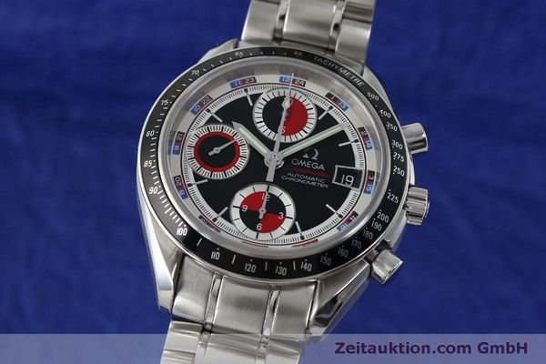 Used luxury watch Omega Speedmaster chronograph steel automatic Kal. 1165B Ref. 32105200  | 151704 04