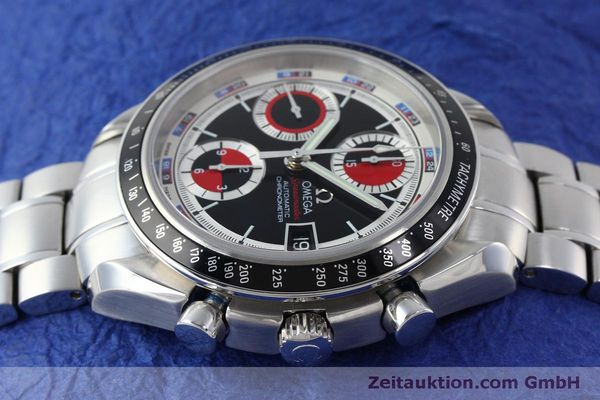 Used luxury watch Omega Speedmaster chronograph steel automatic Kal. 1165B Ref. 32105200  | 151704 05