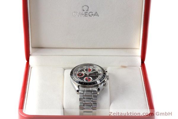 Used luxury watch Omega Speedmaster chronograph steel automatic Kal. 1165B Ref. 32105200  | 151704 07