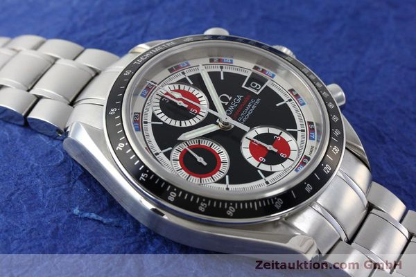Used luxury watch Omega Speedmaster chronograph steel automatic Kal. 1165B Ref. 32105200  | 151704 17