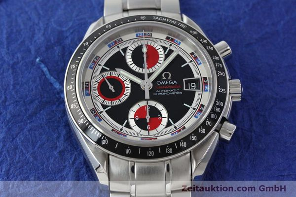 Used luxury watch Omega Speedmaster chronograph steel automatic Kal. 1165B Ref. 32105200  | 151704 18