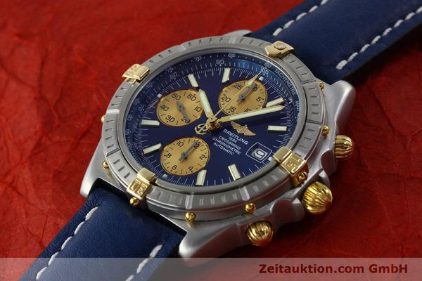 Used luxury watch Breitling Crosswind chronograph steel / gold automatic Kal. B13 ETA 7750 Ref. B13355  | 151710 01