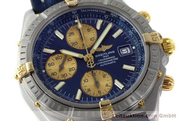 Used luxury watch Breitling Crosswind chronograph steel / gold automatic Kal. B13 ETA 7750 Ref. B13355  | 151710 02