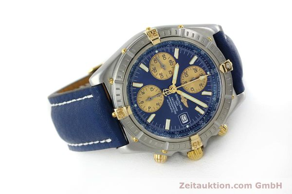 Used luxury watch Breitling Crosswind chronograph steel / gold automatic Kal. B13 ETA 7750 Ref. B13355  | 151710 03
