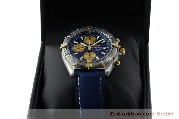 Used luxury watch Breitling Crosswind chronograph steel / gold automatic Kal. B13 ETA 7750 Ref. B13355  | 151710 07