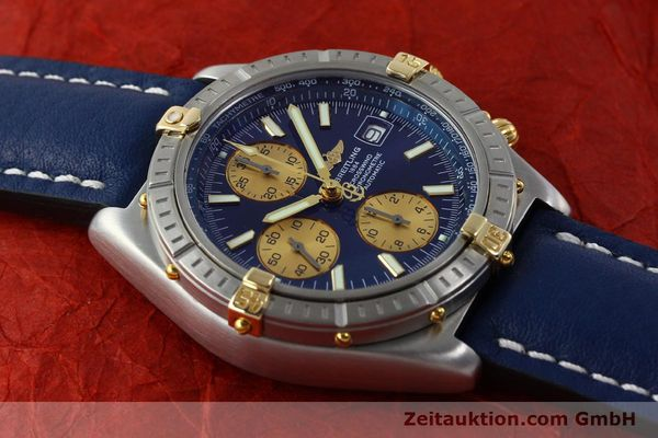 Used luxury watch Breitling Crosswind chronograph steel / gold automatic Kal. B13 ETA 7750 Ref. B13355  | 151710 14