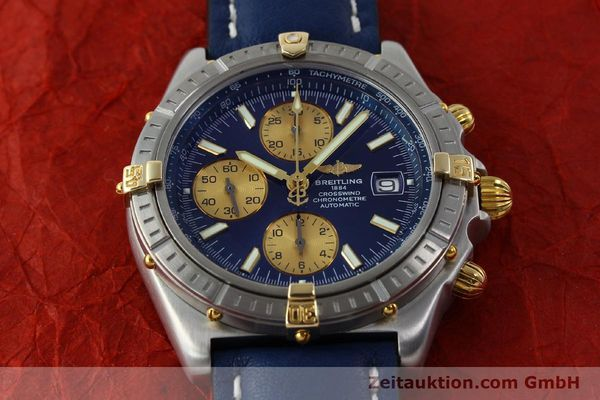 Used luxury watch Breitling Crosswind chronograph steel / gold automatic Kal. B13 ETA 7750 Ref. B13355  | 151710 15