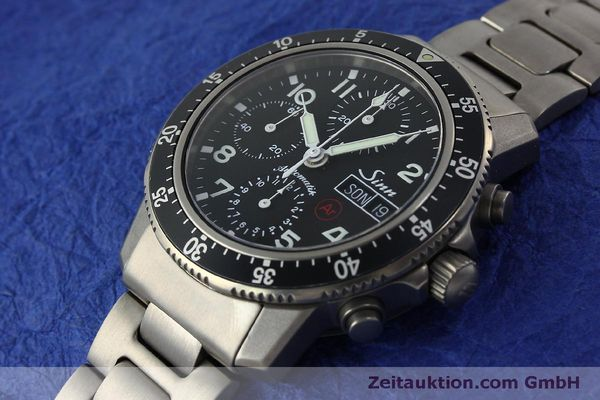 Used luxury watch Sinn 103 Ti Ar chronograph titanium automatic Kal. ETA 7750 Ref. 103.16167  | 151719 01
