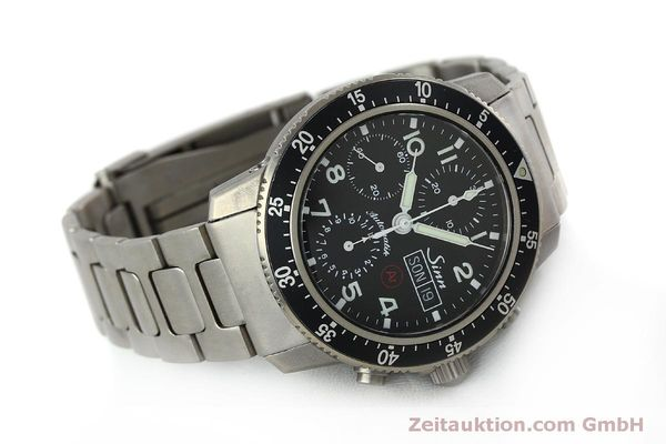 Used luxury watch Sinn 103 Ti Ar chronograph titanium automatic Kal. ETA 7750 Ref. 103.16167  | 151719 03