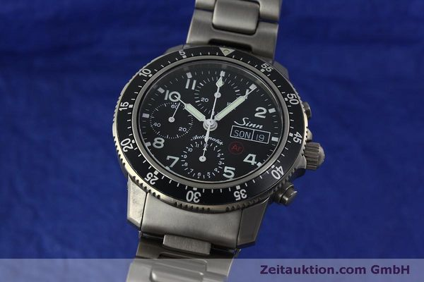 Used luxury watch Sinn 103 Ti Ar chronograph titanium automatic Kal. ETA 7750 Ref. 103.16167  | 151719 04
