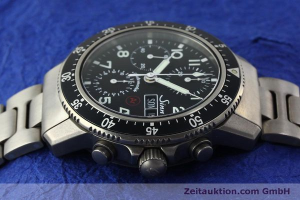 Used luxury watch Sinn 103 Ti Ar chronograph titanium automatic Kal. ETA 7750 Ref. 103.16167  | 151719 05