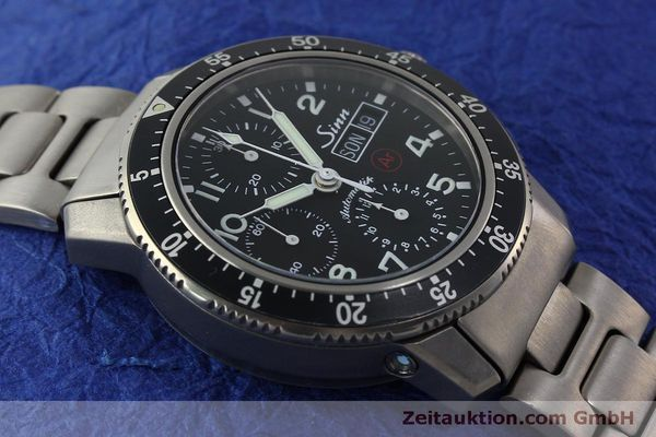 Used luxury watch Sinn 103 Ti Ar chronograph titanium automatic Kal. ETA 7750 Ref. 103.16167  | 151719 14