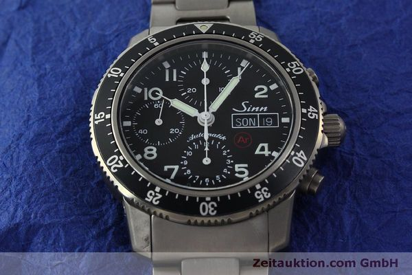 Used luxury watch Sinn 103 Ti Ar chronograph titanium automatic Kal. ETA 7750 Ref. 103.16167  | 151719 15