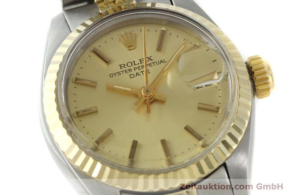 Used luxury watch Rolex Lady Date steel / gold automatic Kal. 2030 Ref. 6917  | 151727 02