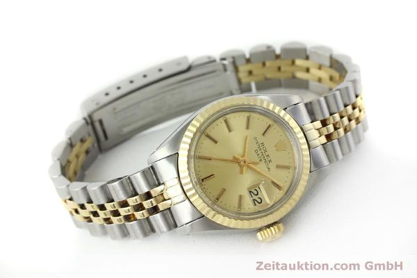 Used luxury watch Rolex Lady Date steel / gold automatic Kal. 2030 Ref. 6917  | 151727 03