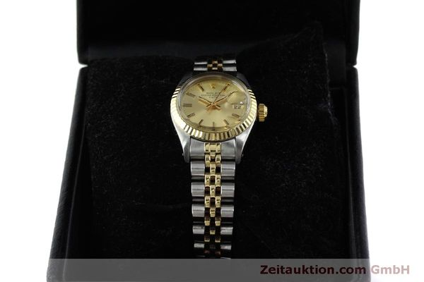 Used luxury watch Rolex Lady Date steel / gold automatic Kal. 2030 Ref. 6917  | 151727 07