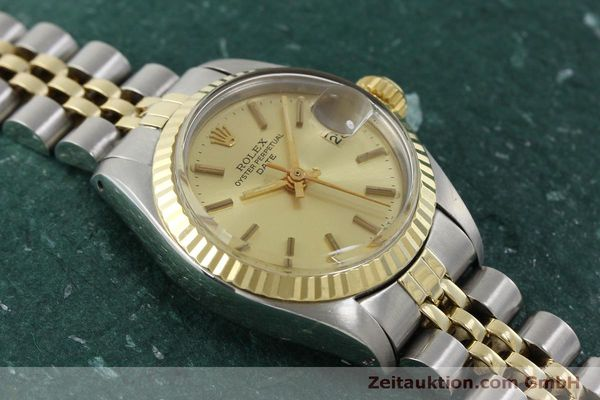 Used luxury watch Rolex Lady Date steel / gold automatic Kal. 2030 Ref. 6917  | 151727 15