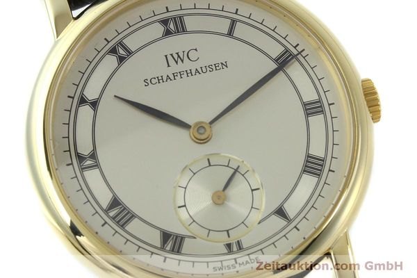 Used luxury watch IWC Portofino 18 ct gold manual winding Kal. 4231 Ref. 2533  | 151728 02