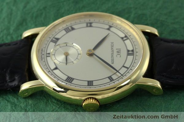 Used luxury watch IWC Portofino 18 ct gold manual winding Kal. 4231 Ref. 2533  | 151728 05