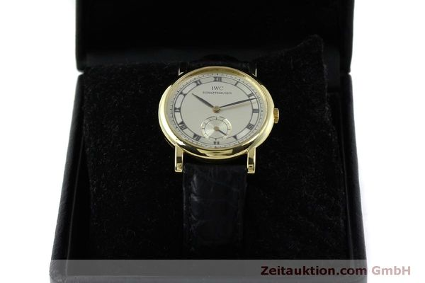 Used luxury watch IWC Portofino 18 ct gold manual winding Kal. 4231 Ref. 2533  | 151728 07