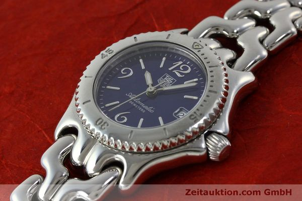 Used luxury watch Tag Heuer Link steel automatic Kal. ETA 2000-1  | 151729 01