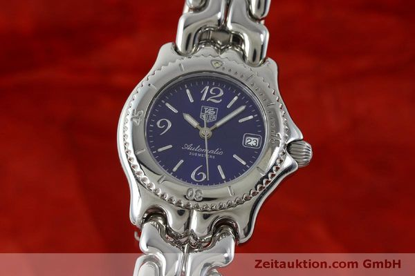 Used luxury watch Tag Heuer Link steel automatic Kal. ETA 2000-1  | 151729 04