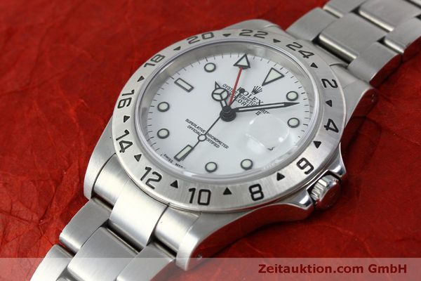 Used luxury watch Rolex Explorer II steel automatic Kal. 151731 Ref. 16570  | 151731 01