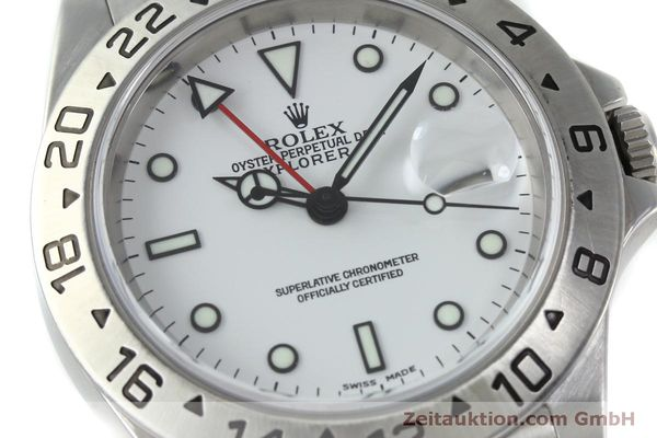 Used luxury watch Rolex Explorer II steel automatic Kal. 151731 Ref. 16570  | 151731 02