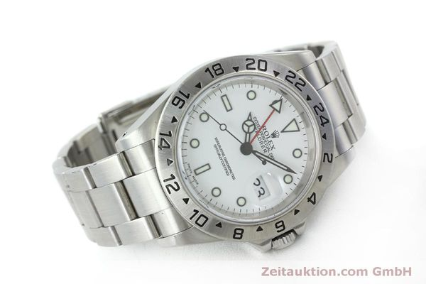 Used luxury watch Rolex Explorer II steel automatic Kal. 151731 Ref. 16570  | 151731 03