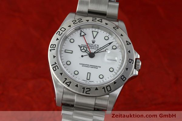 Used luxury watch Rolex Explorer II steel automatic Kal. 151731 Ref. 16570  | 151731 04