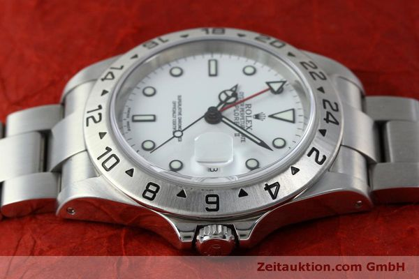 Used luxury watch Rolex Explorer II steel automatic Kal. 151731 Ref. 16570  | 151731 05