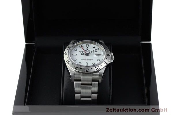 Used luxury watch Rolex Explorer II steel automatic Kal. 151731 Ref. 16570  | 151731 07