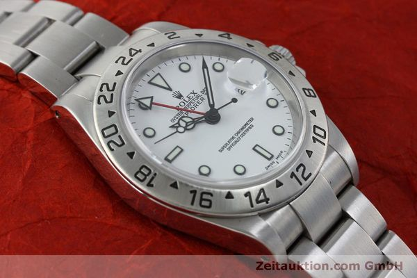 Used luxury watch Rolex Explorer II steel automatic Kal. 151731 Ref. 16570  | 151731 15