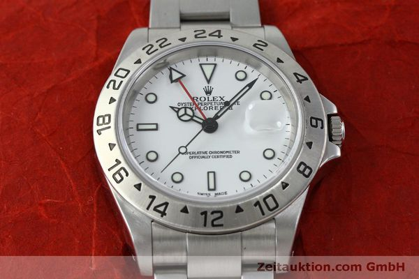 Used luxury watch Rolex Explorer II steel automatic Kal. 151731 Ref. 16570  | 151731 16