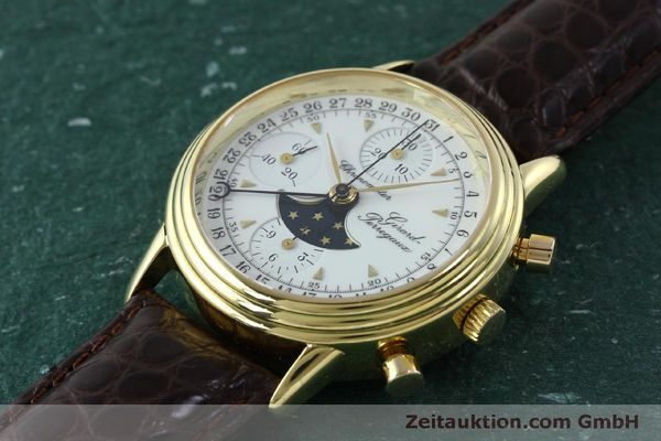 Used luxury watch Girard Perregaux 4745 chronograph 18 ct gold automatic Kal. Valj.  7750 Ref. 47450J  | 151735 01