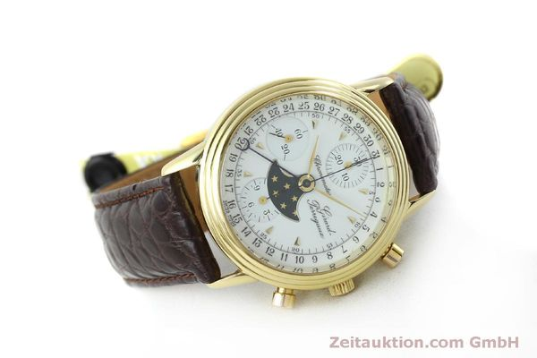 Used luxury watch Girard Perregaux 4745 chronograph 18 ct gold automatic Kal. Valj.  7750 Ref. 47450J  | 151735 03