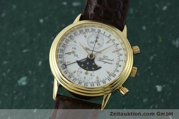 Used luxury watch Girard Perregaux 4745 chronograph 18 ct gold automatic Kal. Valj.  7750 Ref. 47450J  | 151735 04