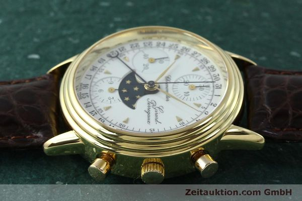 Used luxury watch Girard Perregaux 4745 chronograph 18 ct gold automatic Kal. Valj.  7750 Ref. 47450J  | 151735 05