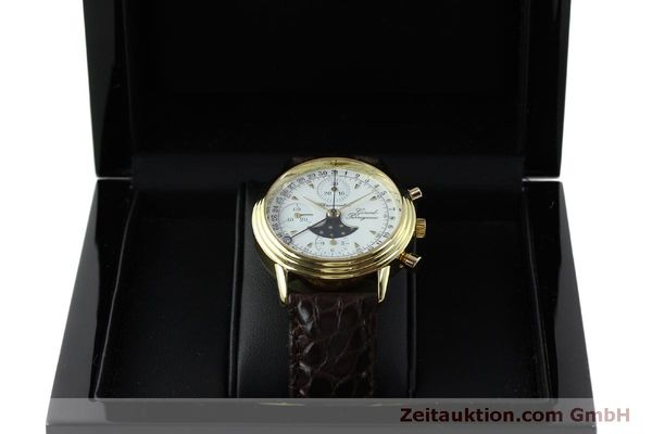 Used luxury watch Girard Perregaux 4745 chronograph 18 ct gold automatic Kal. Valj.  7750 Ref. 47450J  | 151735 07