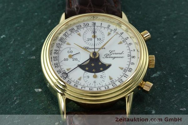 Used luxury watch Girard Perregaux 4745 chronograph 18 ct gold automatic Kal. Valj.  7750 Ref. 47450J  | 151735 14