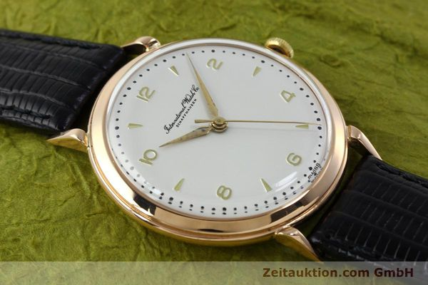 Used luxury watch IWC Portofino 18 ct gold manual winding Kal. 89 VINTAGE  | 151737 13