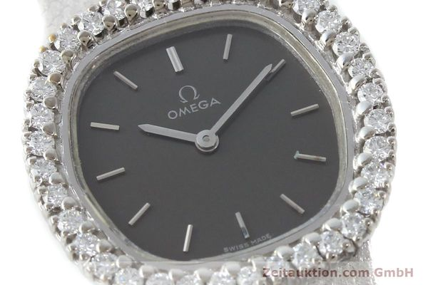 Used luxury watch Omega * 18 ct white gold manual winding Kal. 625  | 151738 02