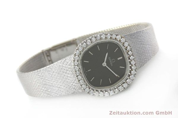 Used luxury watch Omega * 18 ct white gold manual winding Kal. 625  | 151738 03