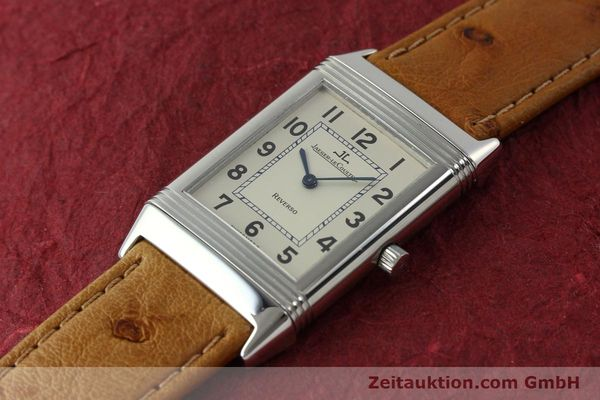 Used luxury watch Jaeger Le Coultre Reverso steel manual winding Kal. 846 Ref. 250.8.86  | 151739 01