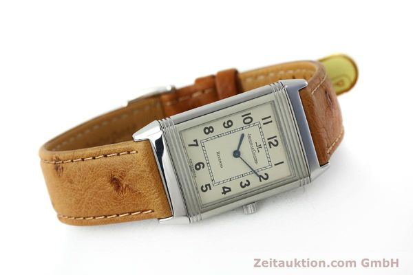 Used luxury watch Jaeger Le Coultre Reverso steel manual winding Kal. 846 Ref. 250.8.86  | 151739 03