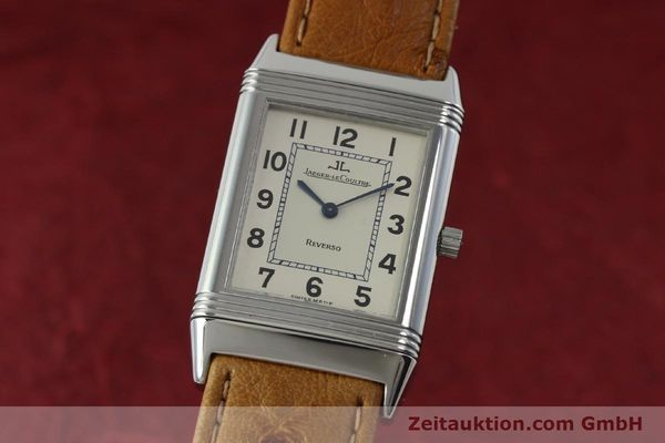 Used luxury watch Jaeger Le Coultre Reverso steel manual winding Kal. 846 Ref. 250.8.86  | 151739 04