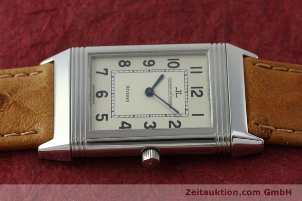Used luxury watch Jaeger Le Coultre Reverso steel manual winding Kal. 846 Ref. 250.8.86  | 151739 05
