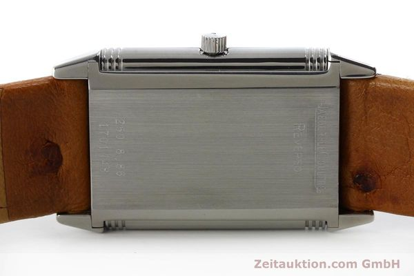 Used luxury watch Jaeger Le Coultre Reverso steel manual winding Kal. 846 Ref. 250.8.86  | 151739 09